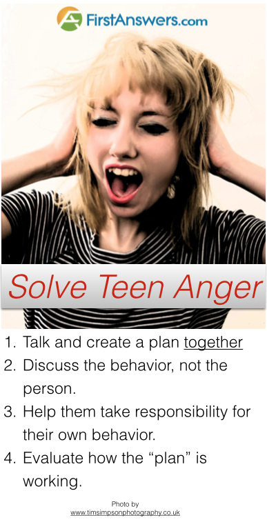 Solve teenage anger and aggression