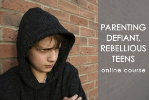 Online Parenting Program for Dealing with Defiant and Rebellious Teens