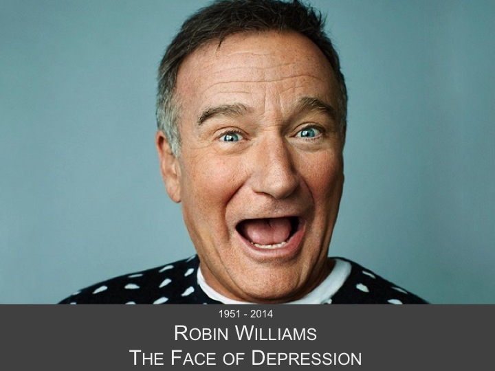 Robin Williams, The Face of Depression