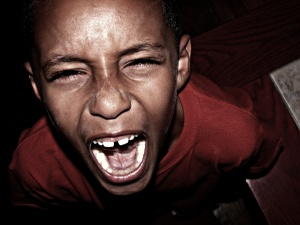 Child Anger. Photo by, Michael La Martin