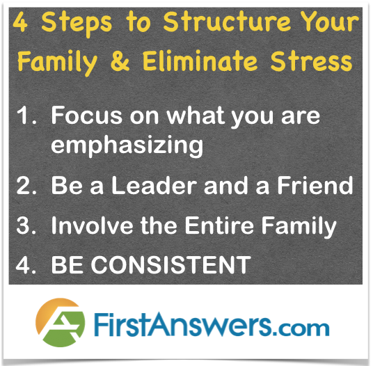 How to structure your family