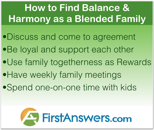 Balance and Harmony in blended family