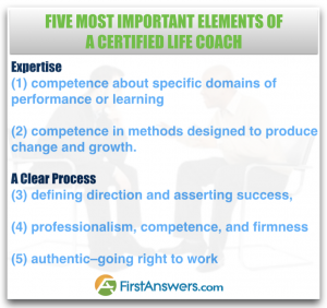 The Five Most Important Elements for a Certified Life Coach