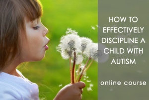 Rachelle Blair–How to discipline young children with autism problem behavior
