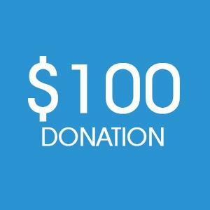 $100 Donation - DONATE
