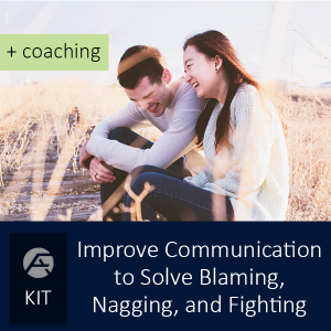 Improve Communication to Stop Blaming, Nagging, and Arguing + Coaching - Certified FirstAnswers.com Marriage Relationship , Parenting, and Professional Performance Coaching - Group of courses for specific topics